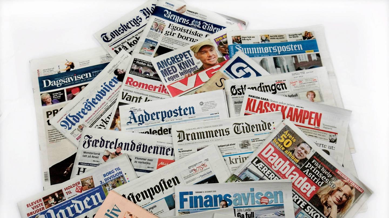 Nyheter i Norge trues når lokalavisene trues med nedleggelse.