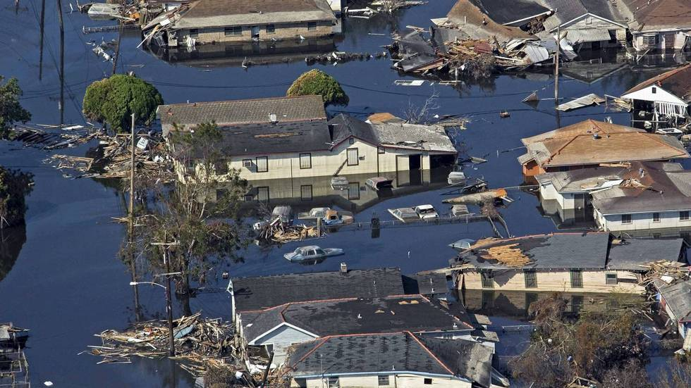 New Orleans etter orkanen Katrinas herjinger.