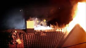 Nedre Foss brant  lenge før brannen  ble oppdaget