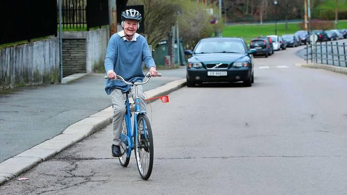 Eldre syklister lever farligst