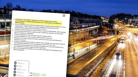 Ruter: Uklart om det er behov for egen bussvei langs ny E18